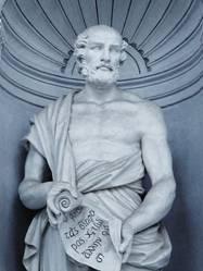 estátua de theophrastus