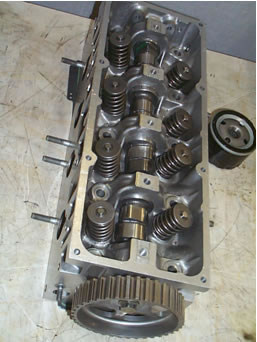 Valve train of Renault K Engine