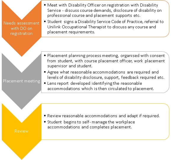 Professional Placement Planning - Supports and Resources : Disability ...