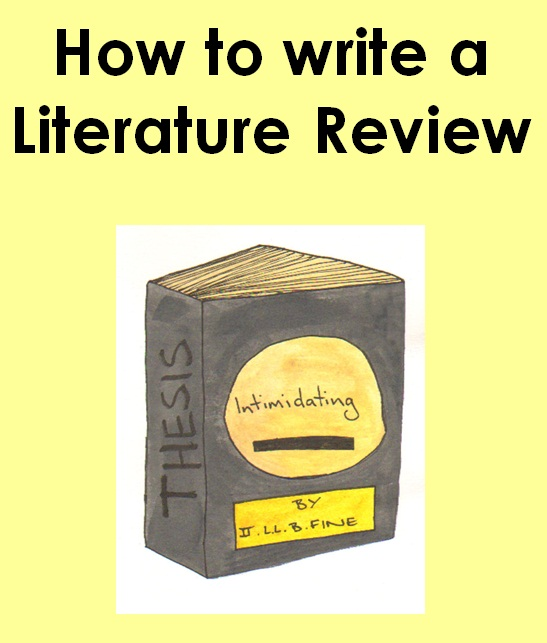 Help with writing literature reviews