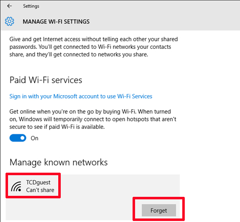 Guest Wi-Fi - Windows 10 Connection Instructions - IT