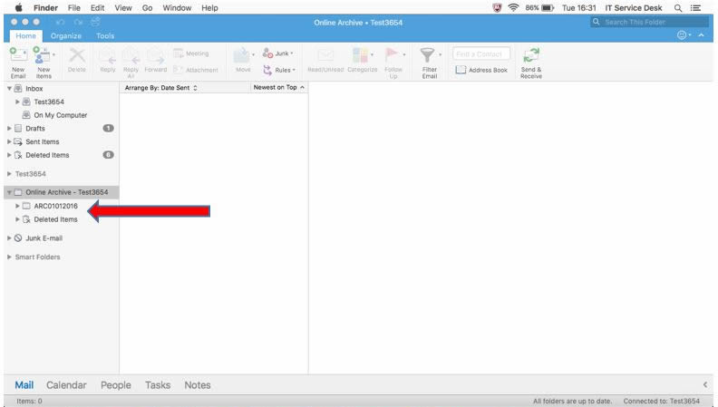 Exporting and Importing Data in Outlook on Macintosh