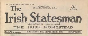 Irish Statesman (Dublin, 1923)