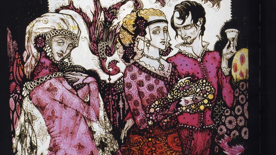 Promotion image used by Sky Arts for the Harry Clarke documentary