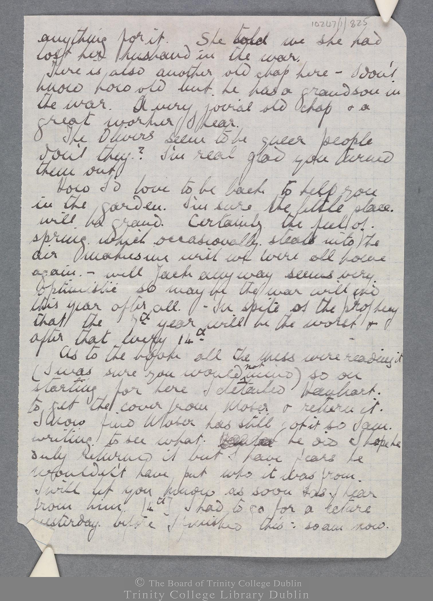 TCD MS 10247/1/825 folio 3 recto