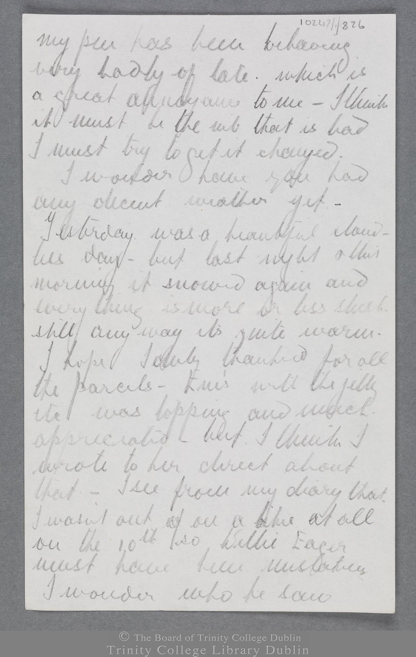 TCD MS 10247/1/826 folio 2 recto