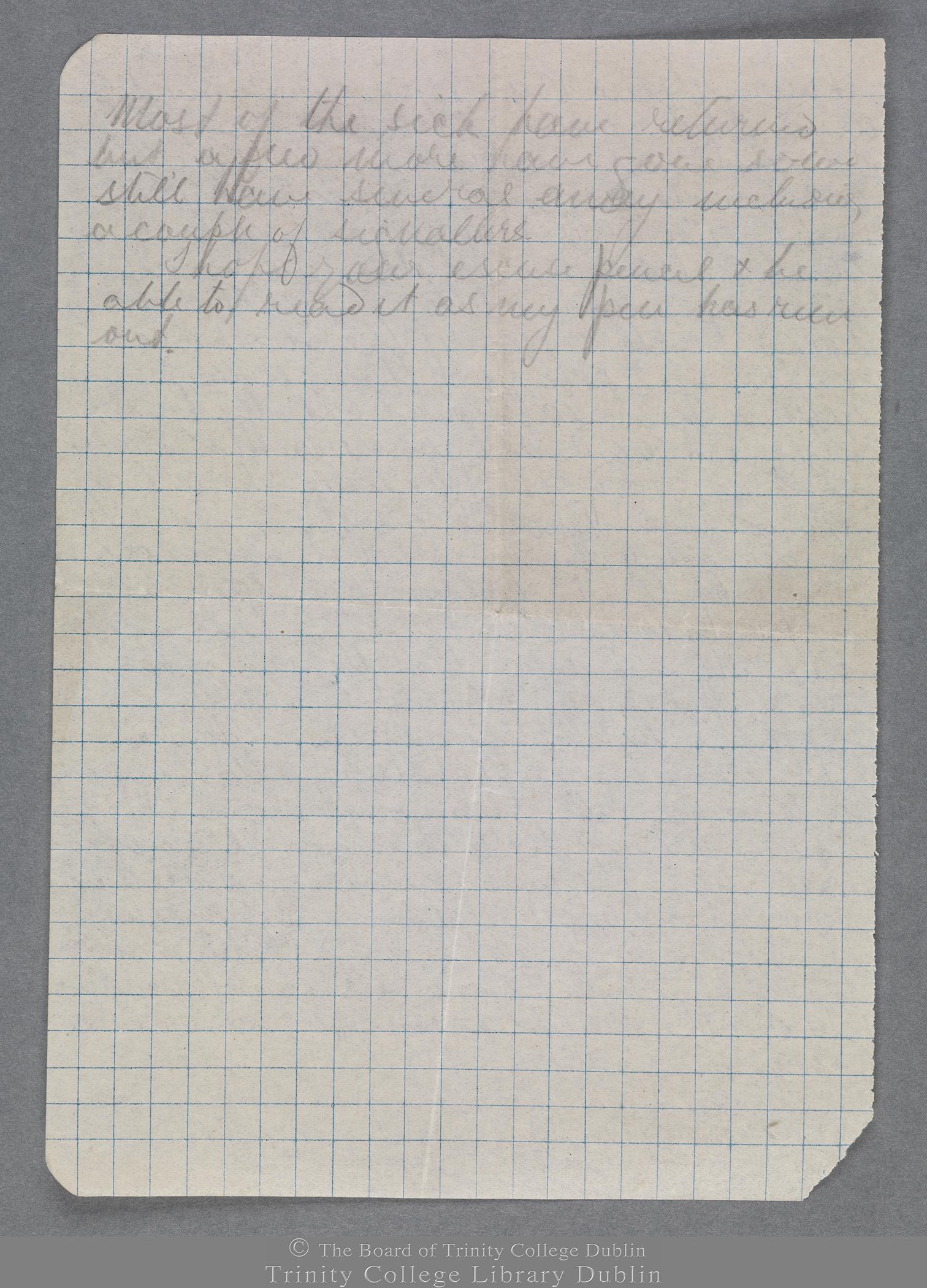 TCD MS 10247/1/829 folio 2 verso