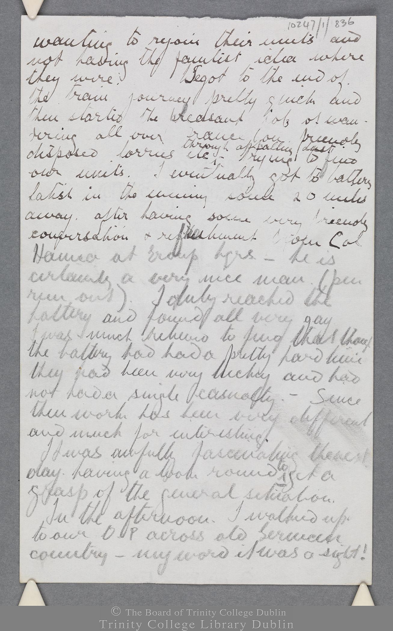 TCD MS 10247/1/836 folio 2 recto