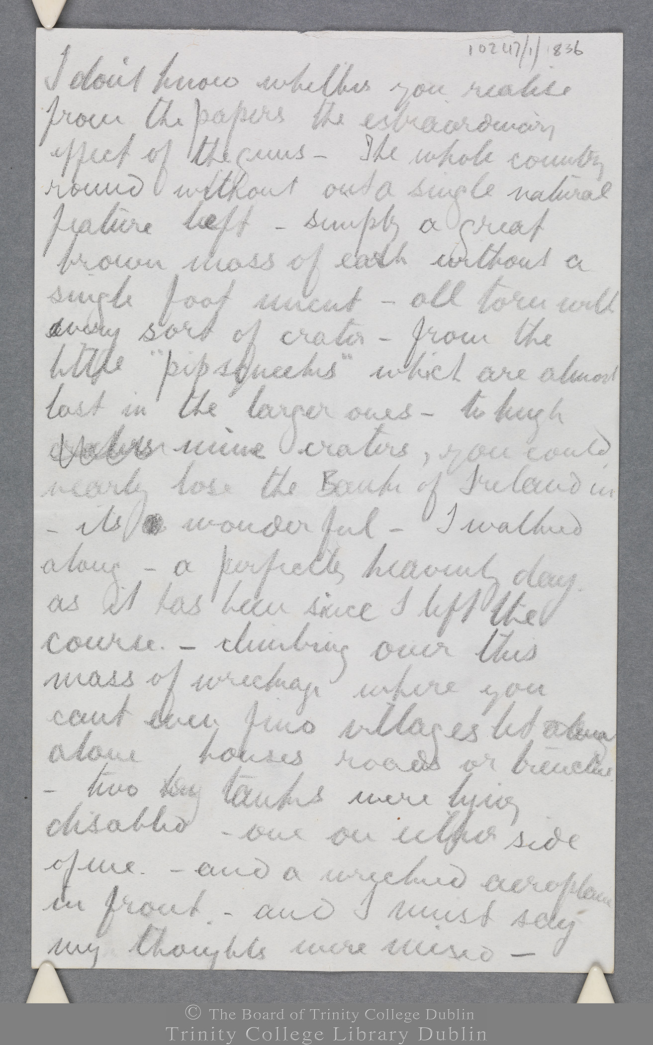 TCD MS 10247/1/836 folio 3 recto