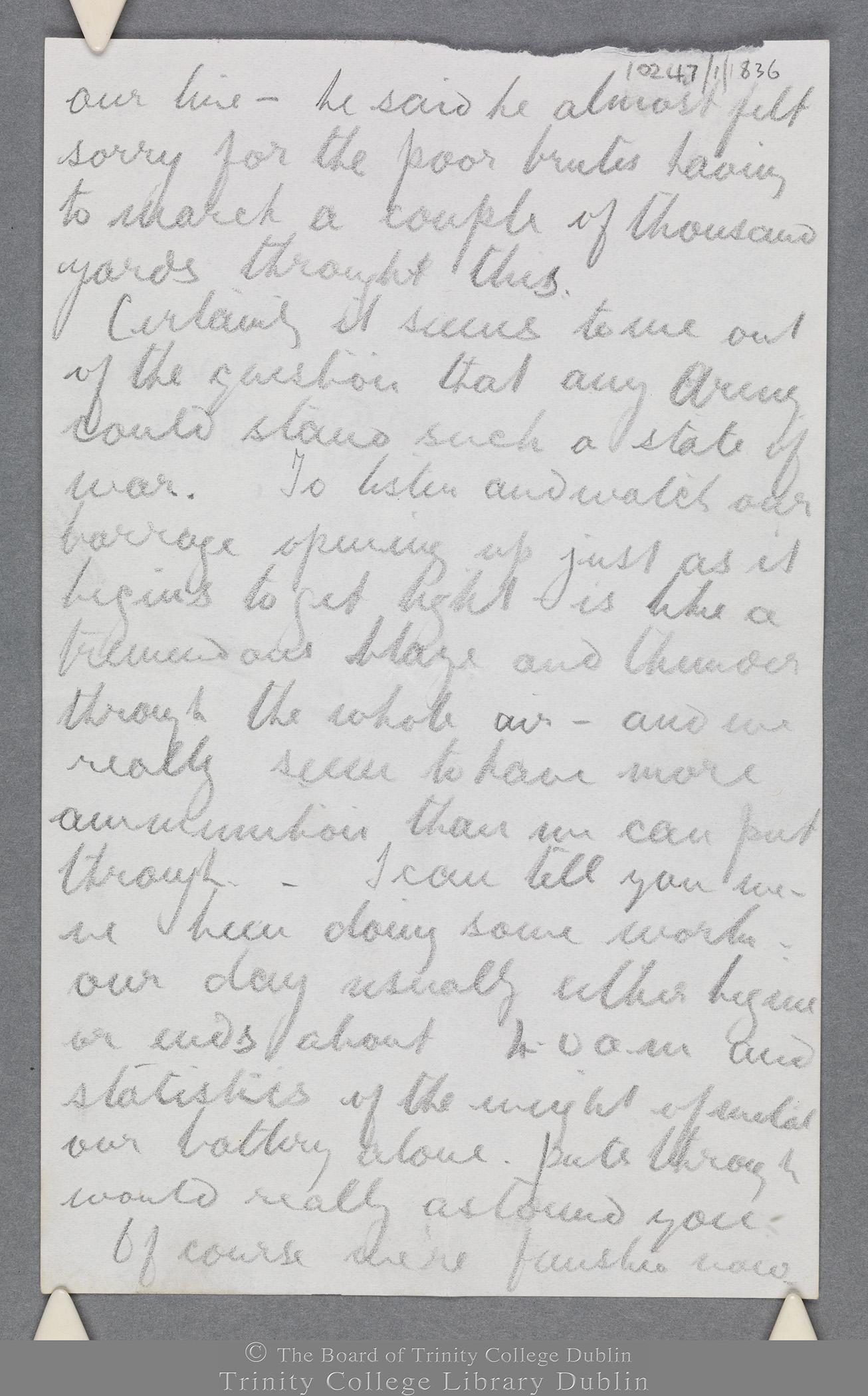 TCD MS 10247/1/836 folio 5 recto