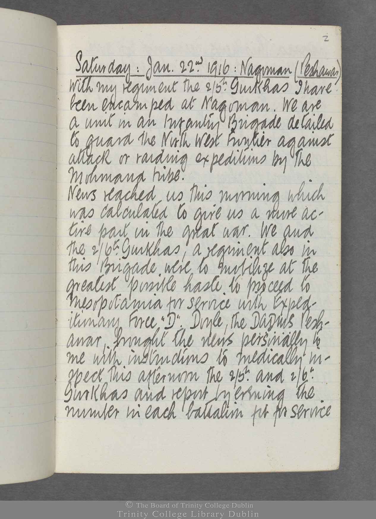 TCD MS 10515 folio 2r