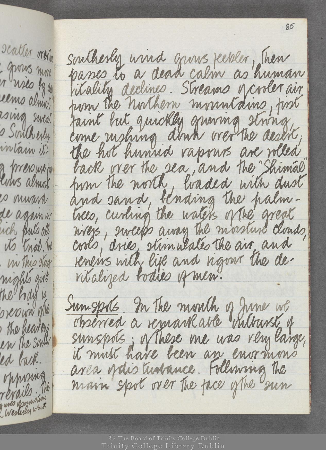 TCD MS 10516 folio 85 recto
