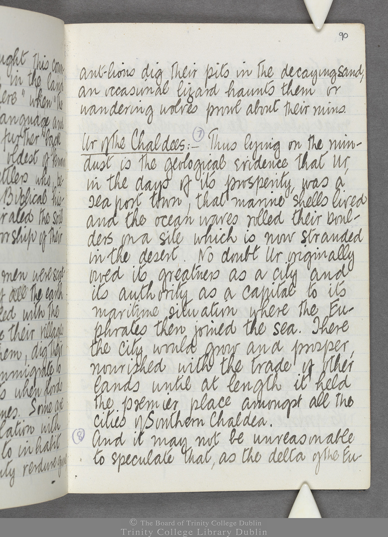 TCD MS 10516 folio 90 recto