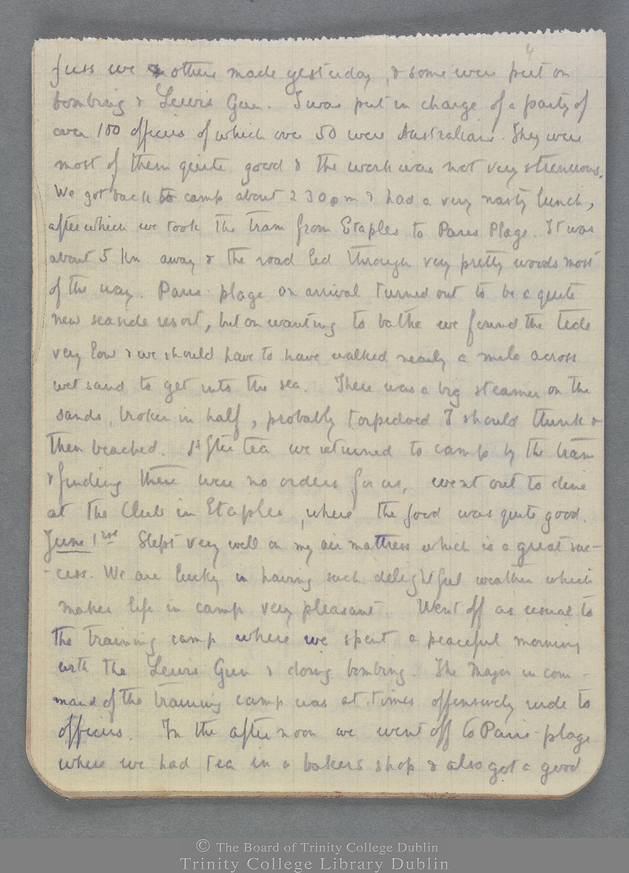 TCD MS 10821 folio 4 recto