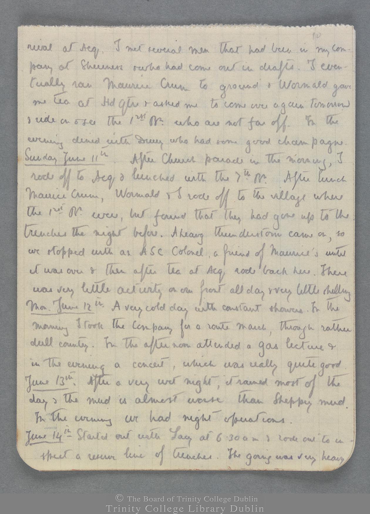 TCD MS 10821 folio 10 recto