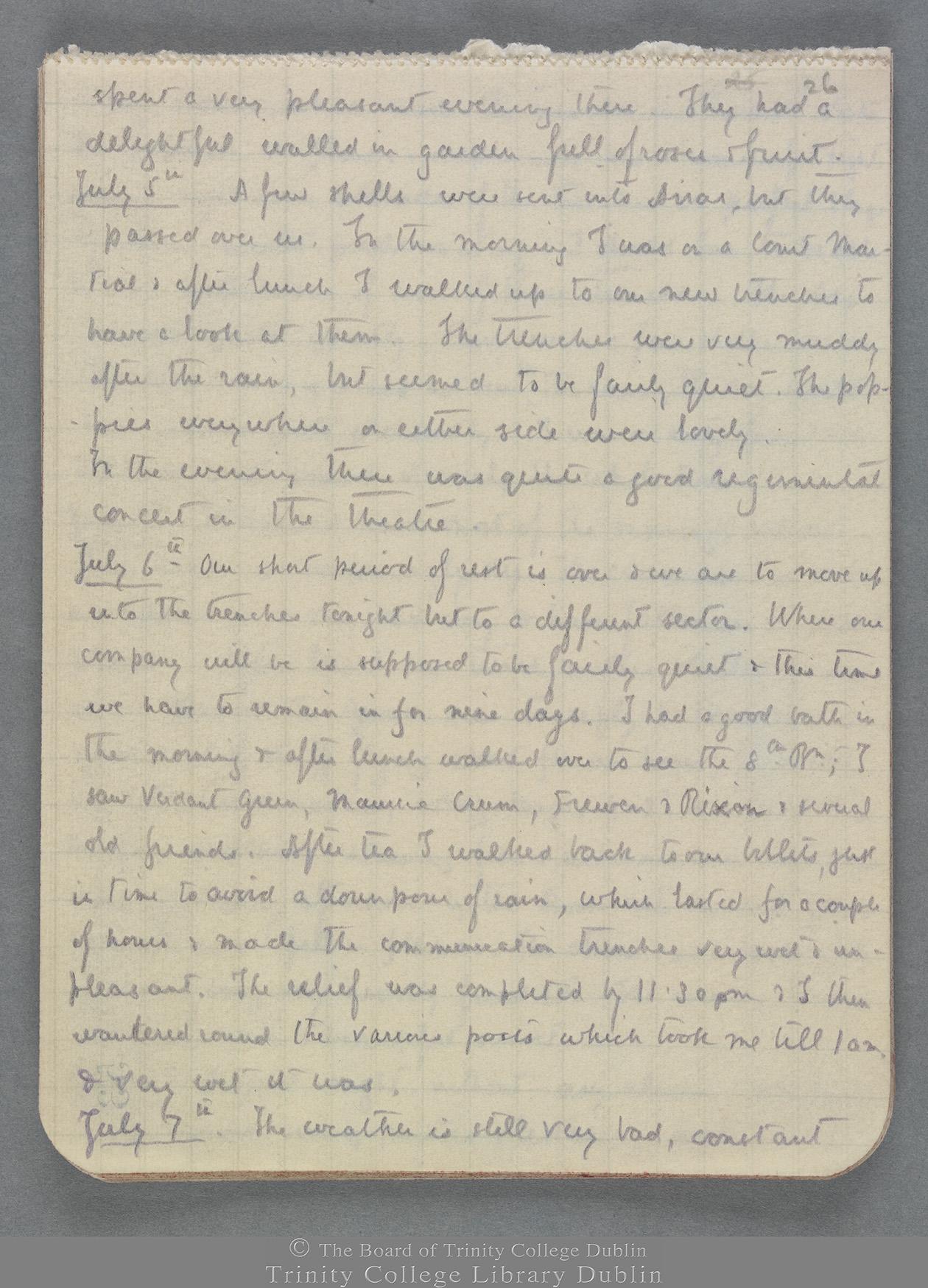 TCD MS 10821 folio 26 recto