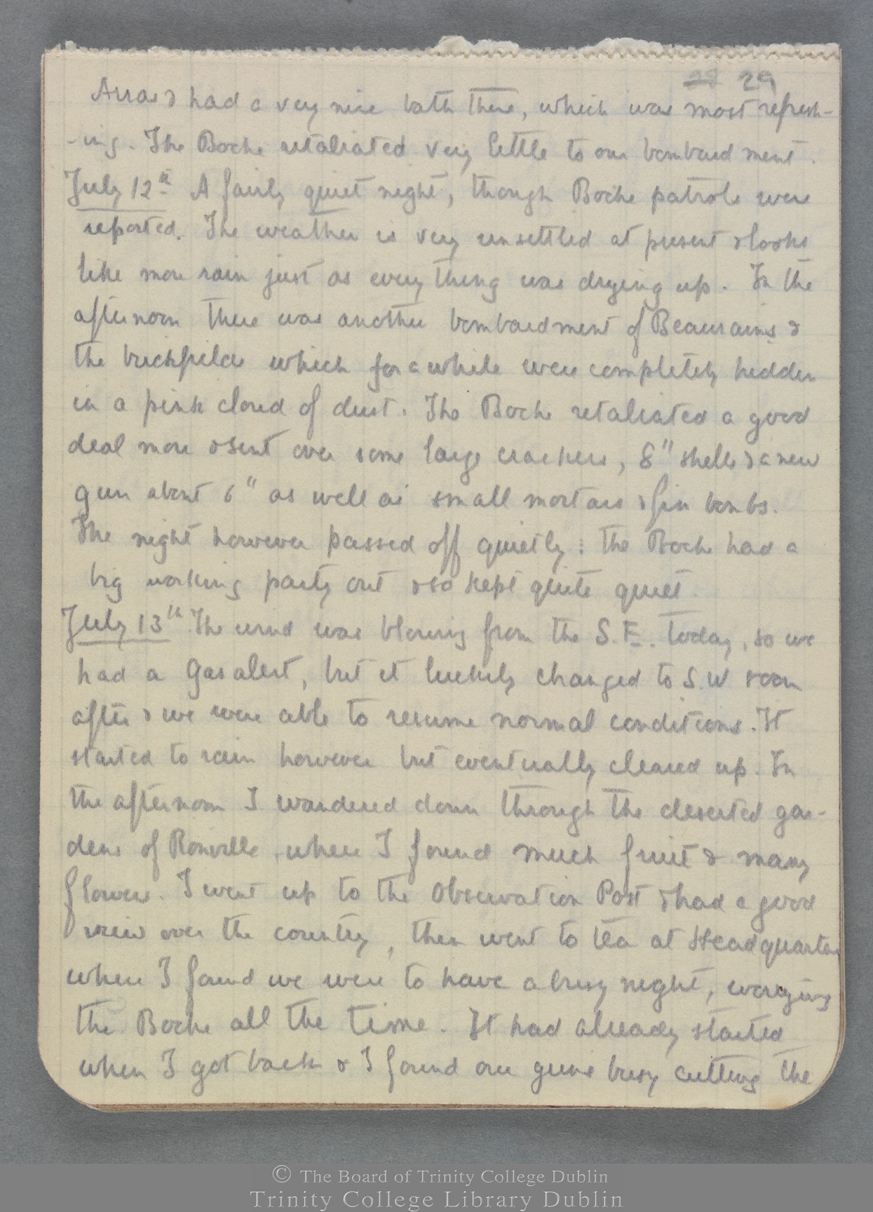 TCD MS 10821 folio 29 recto