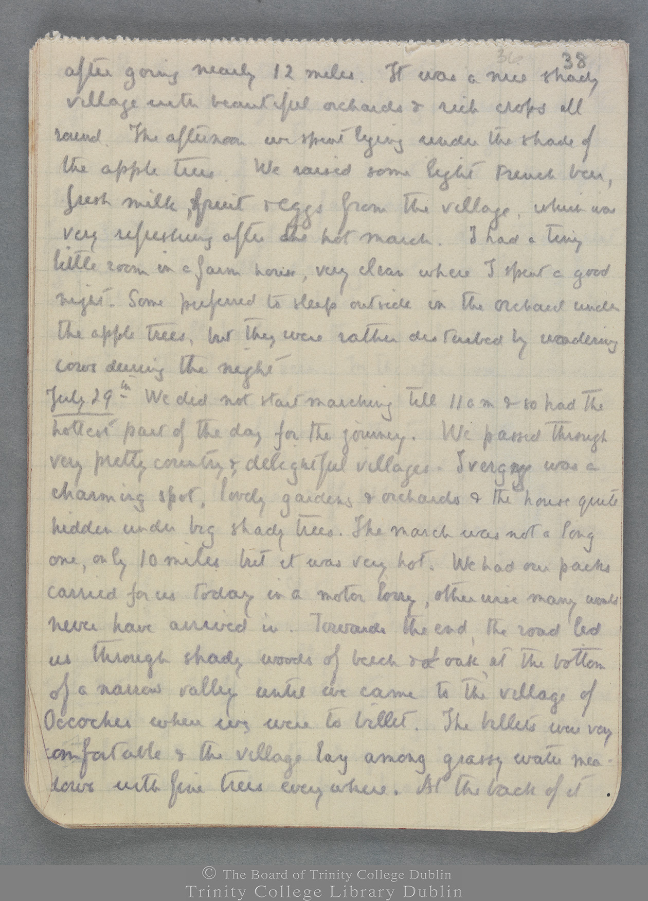 TCD MS 10821 folio 38 recto
