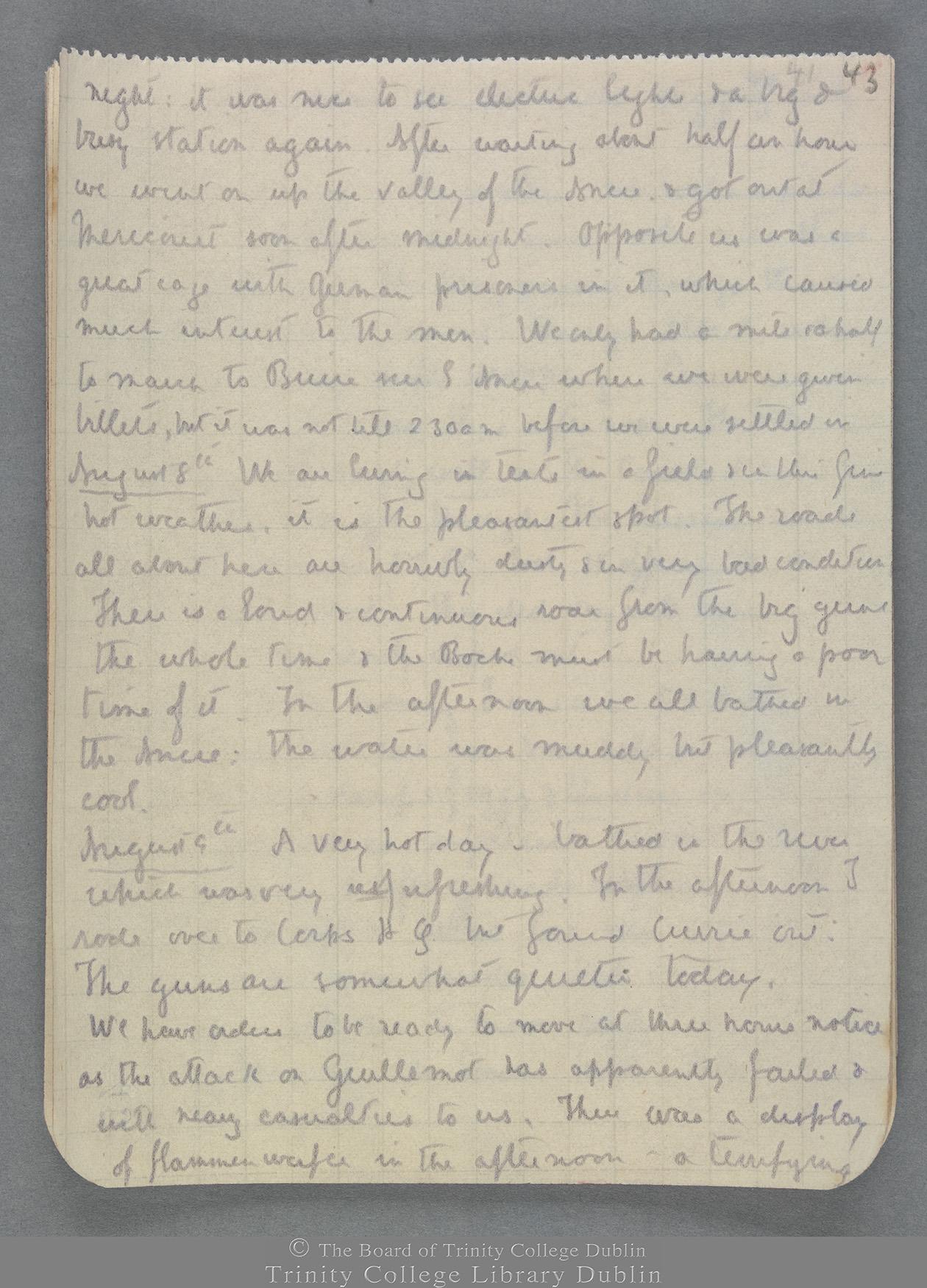 TCD MS 10821 folio 43 recto