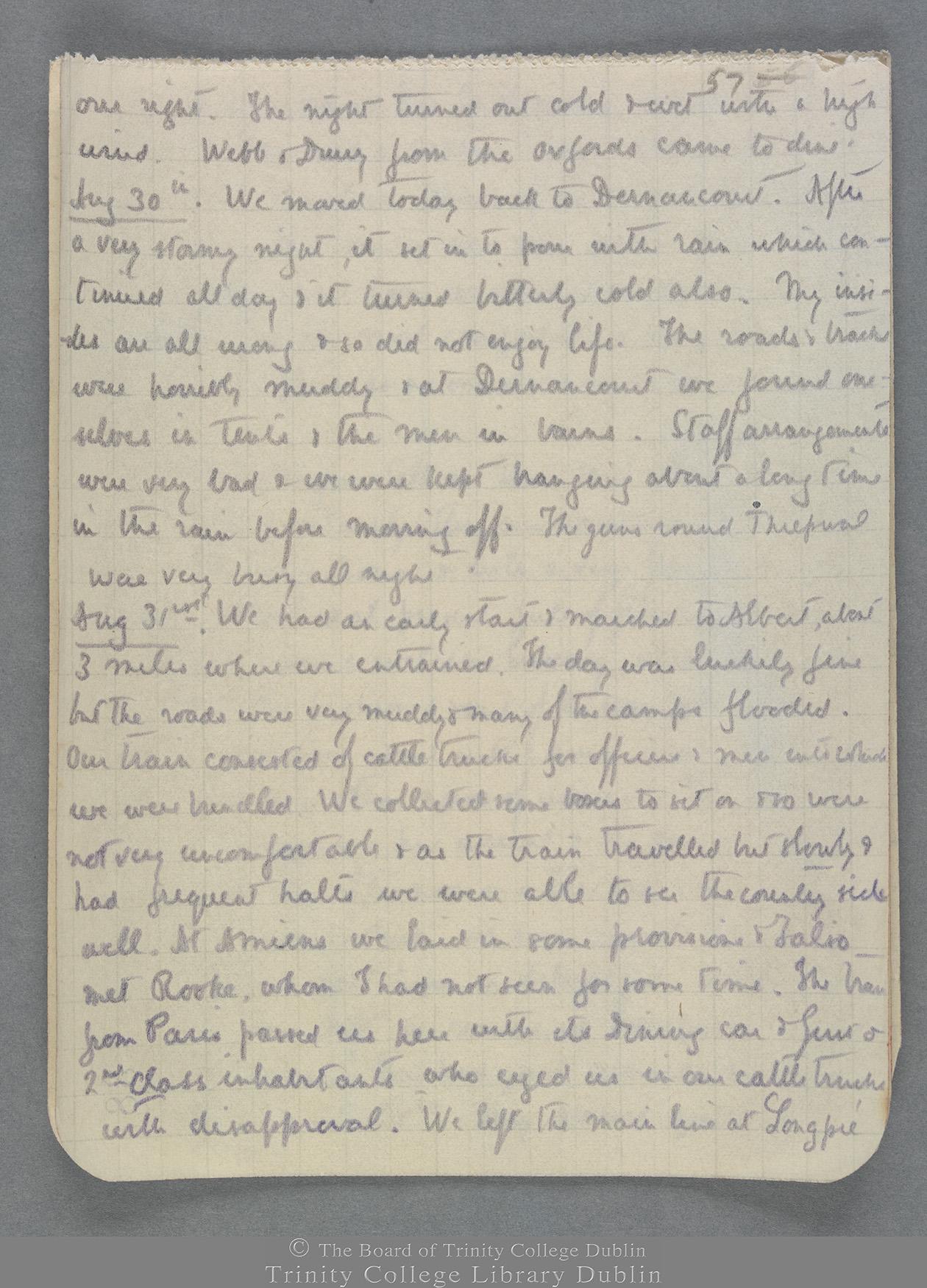 TCD MS 10821 folio 57 recto