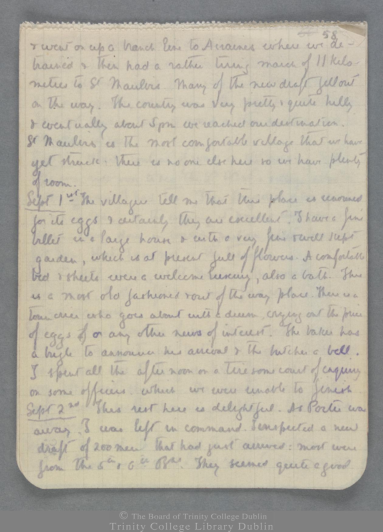 TCD MS 10821 folio 58 recto