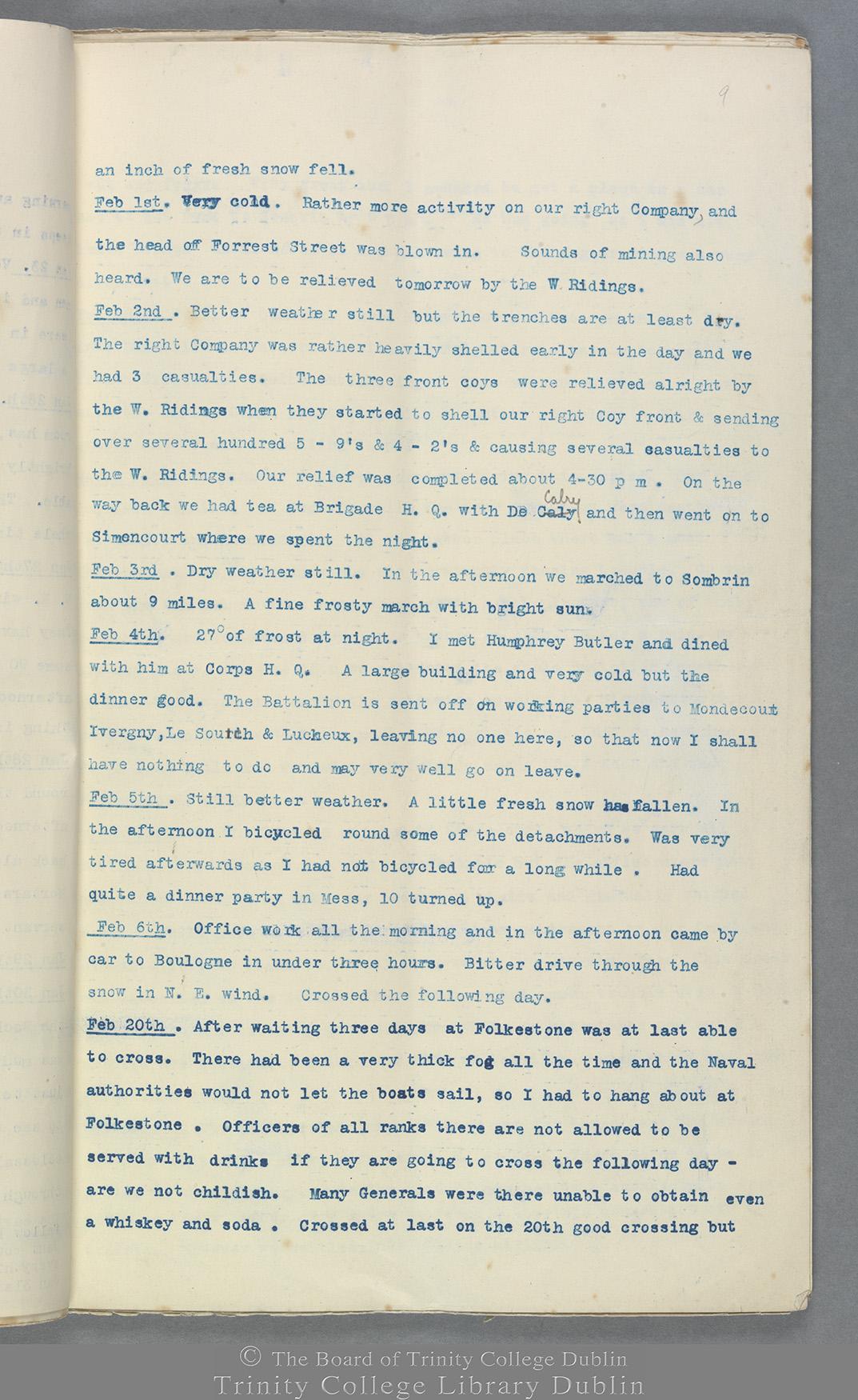 TCD MS 10822 folio 9 recto