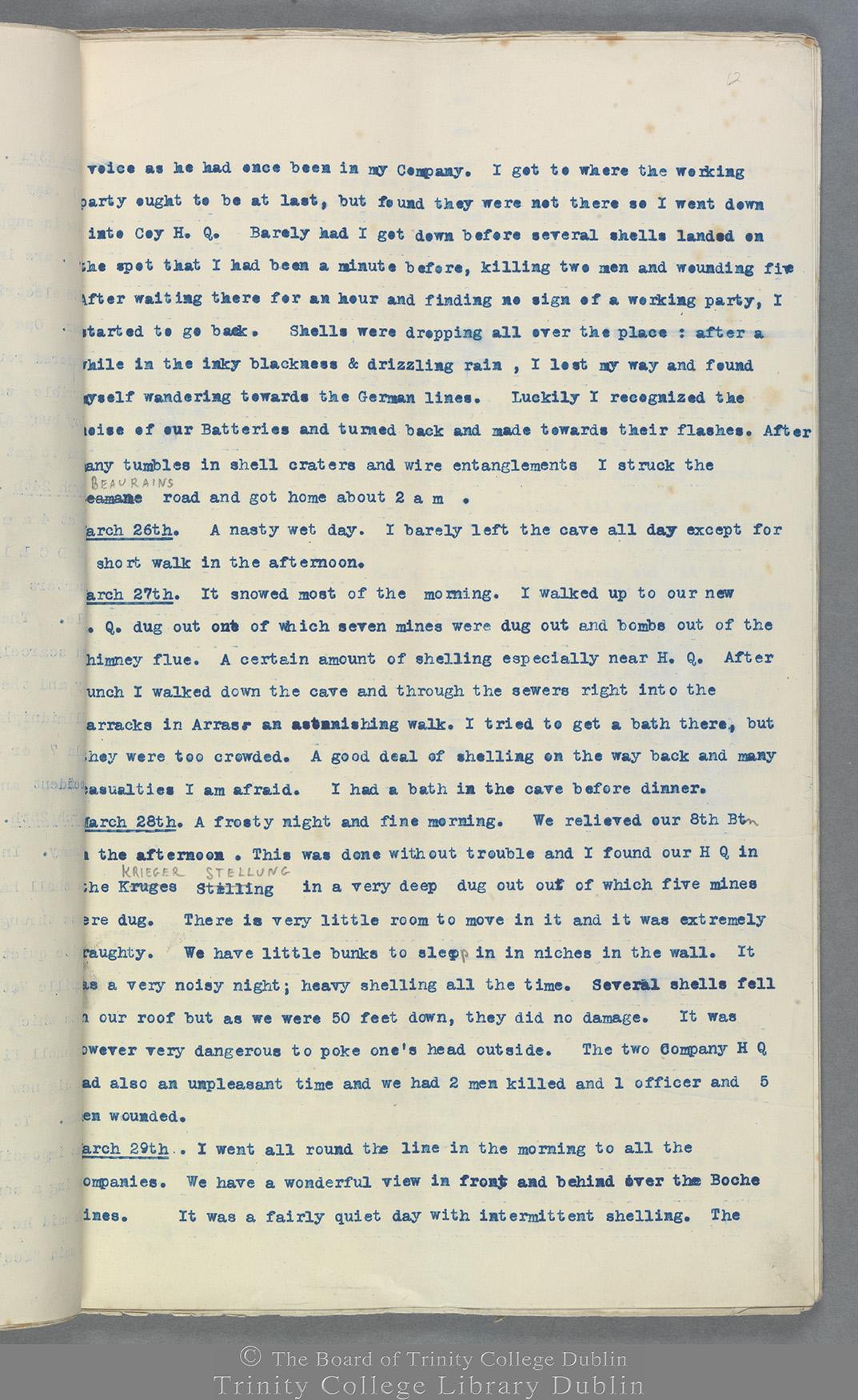 TCD MS 10822 folio 12 recto