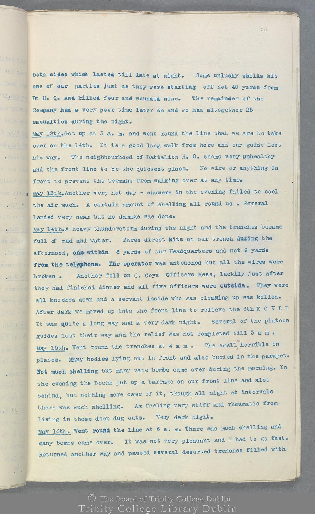 TCD MS 10822 folio 20 recto