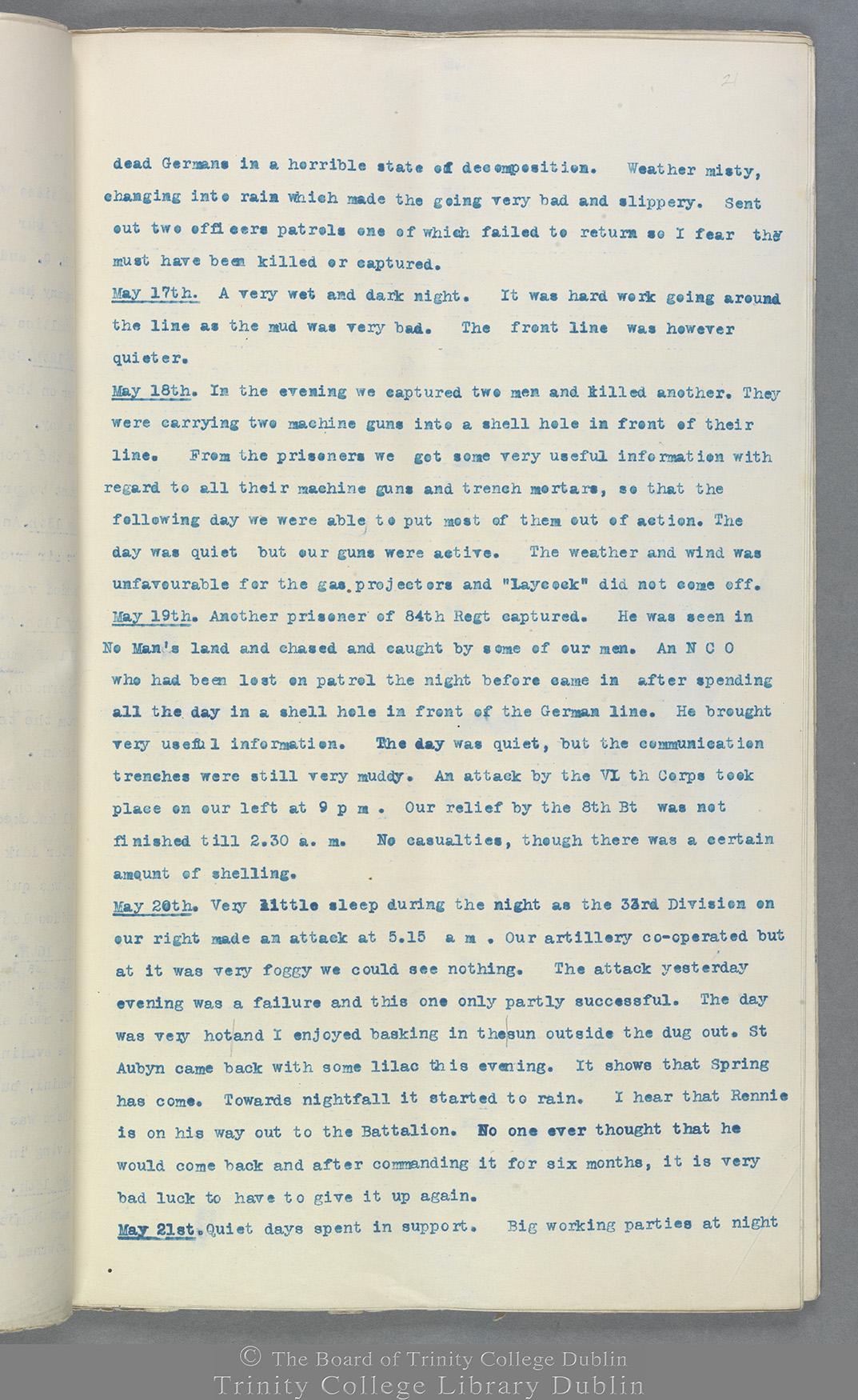 TCD MS 10822 folio 21 recto