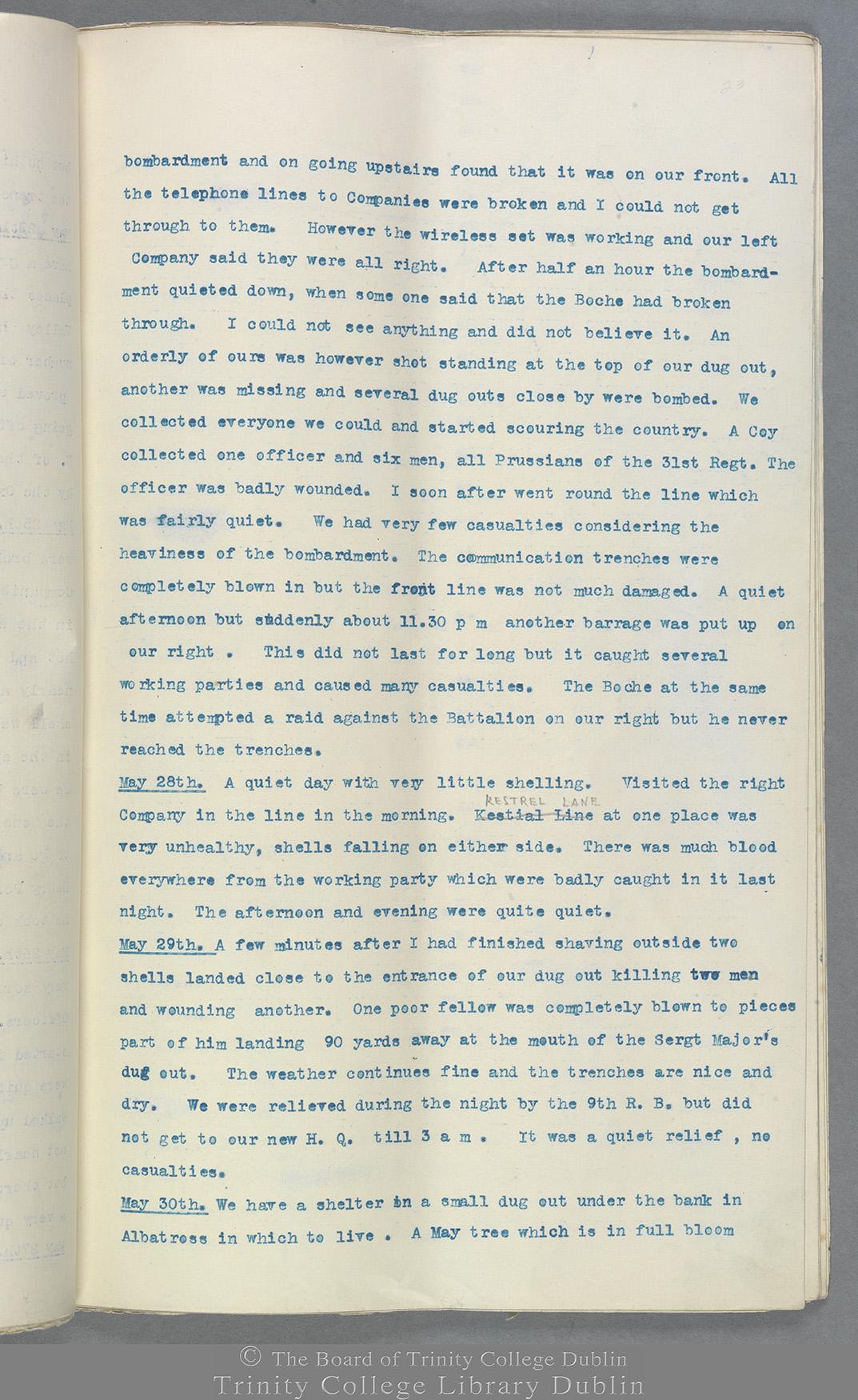 TCD MS 10822 folio 23 recto