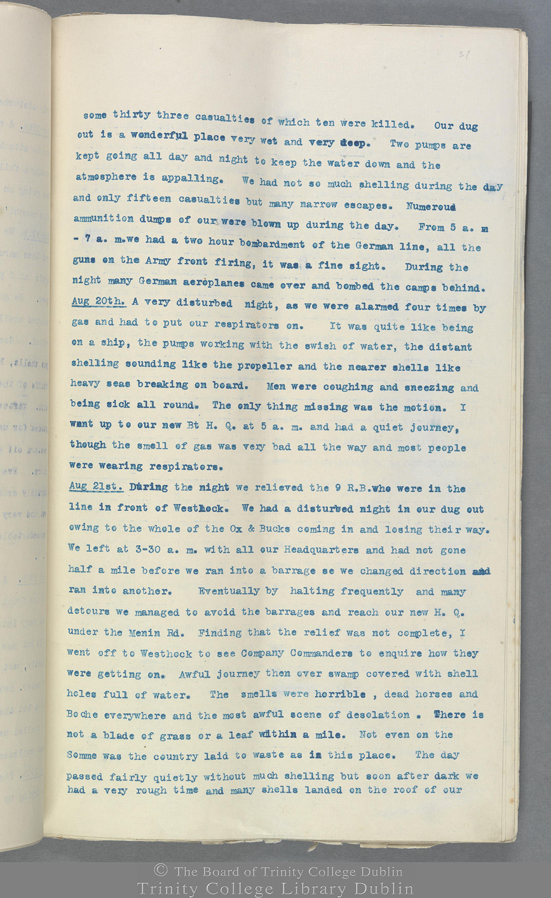 TCD MS 10822 folio 31 recto