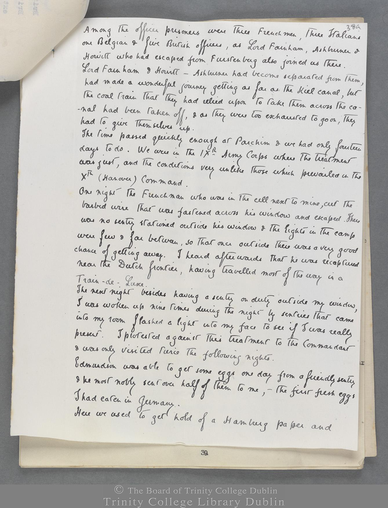 TCD MS 10823 folio 38a recto