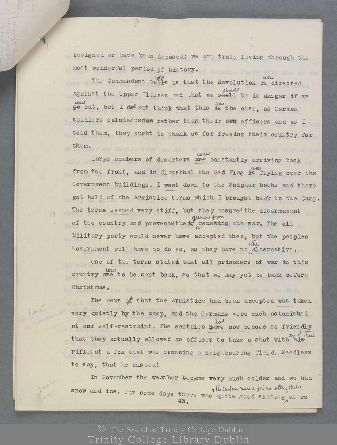 TCD MS 10823 folio 43 recto