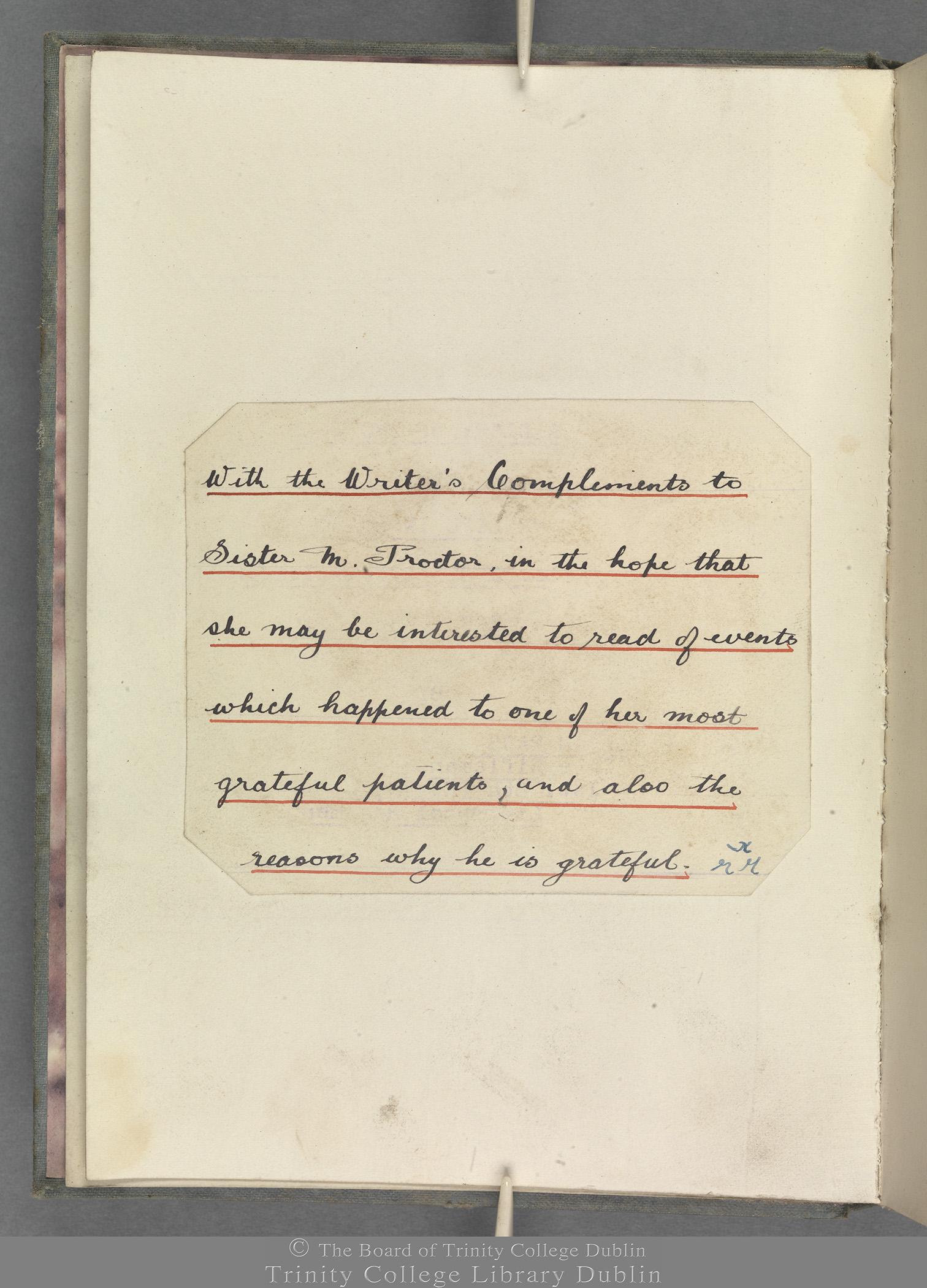 TCD MS 10853 folio i verso