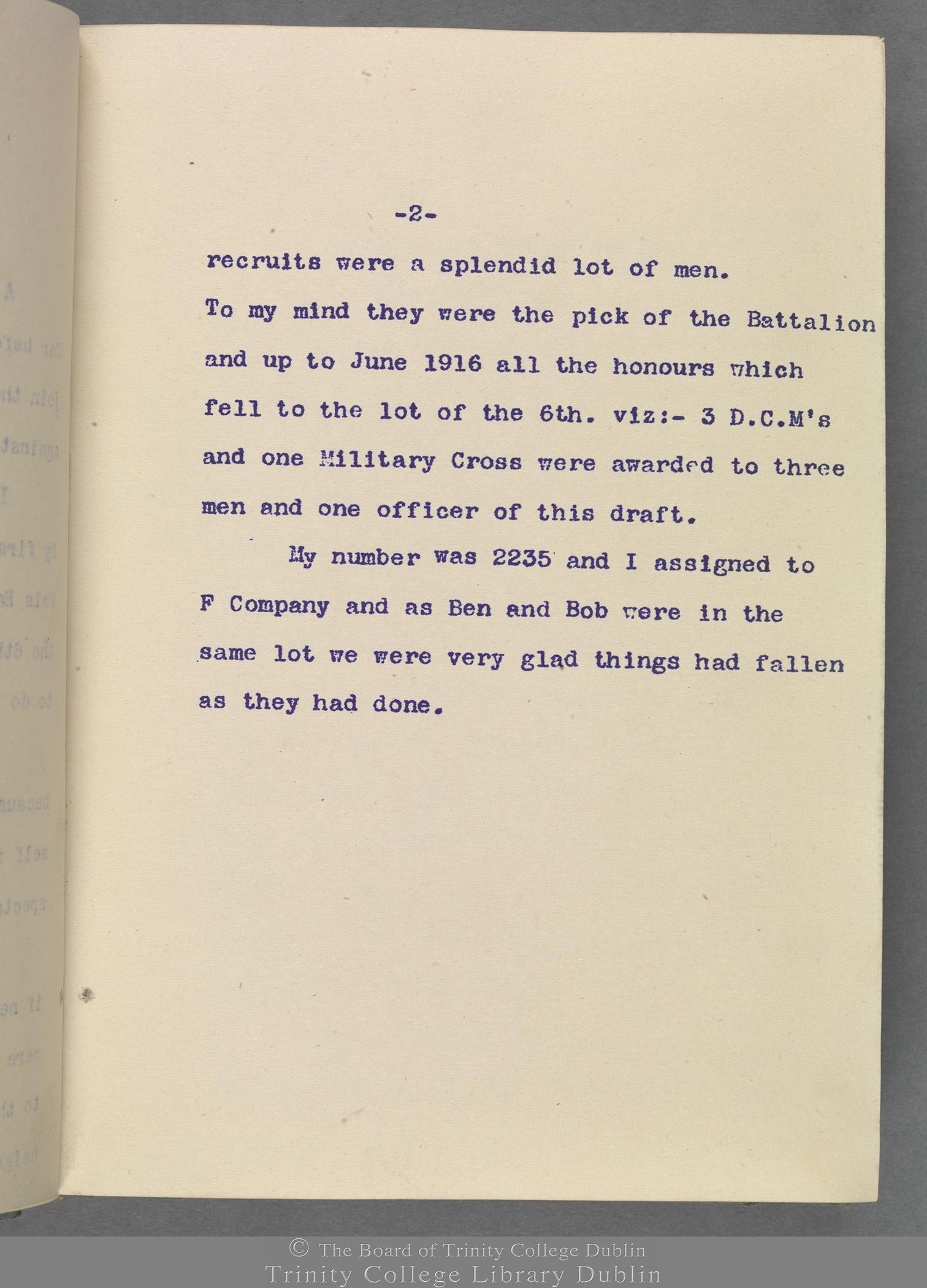 TCD MS 10853 folio 2 recto