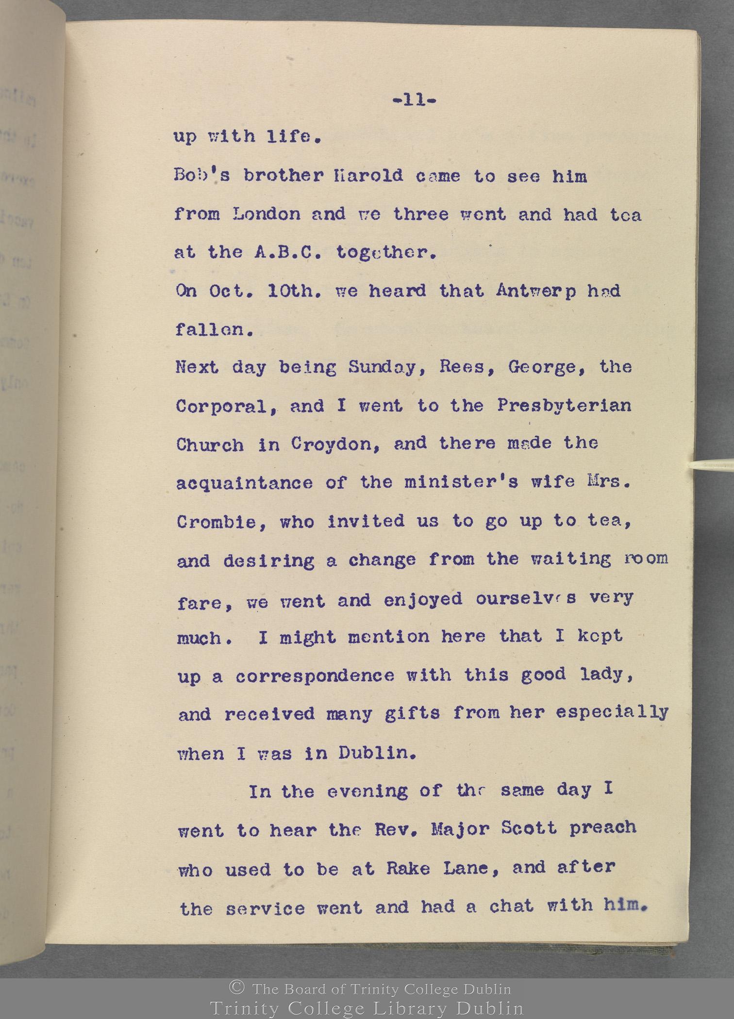 TCD MS 10853 folio 11 recto