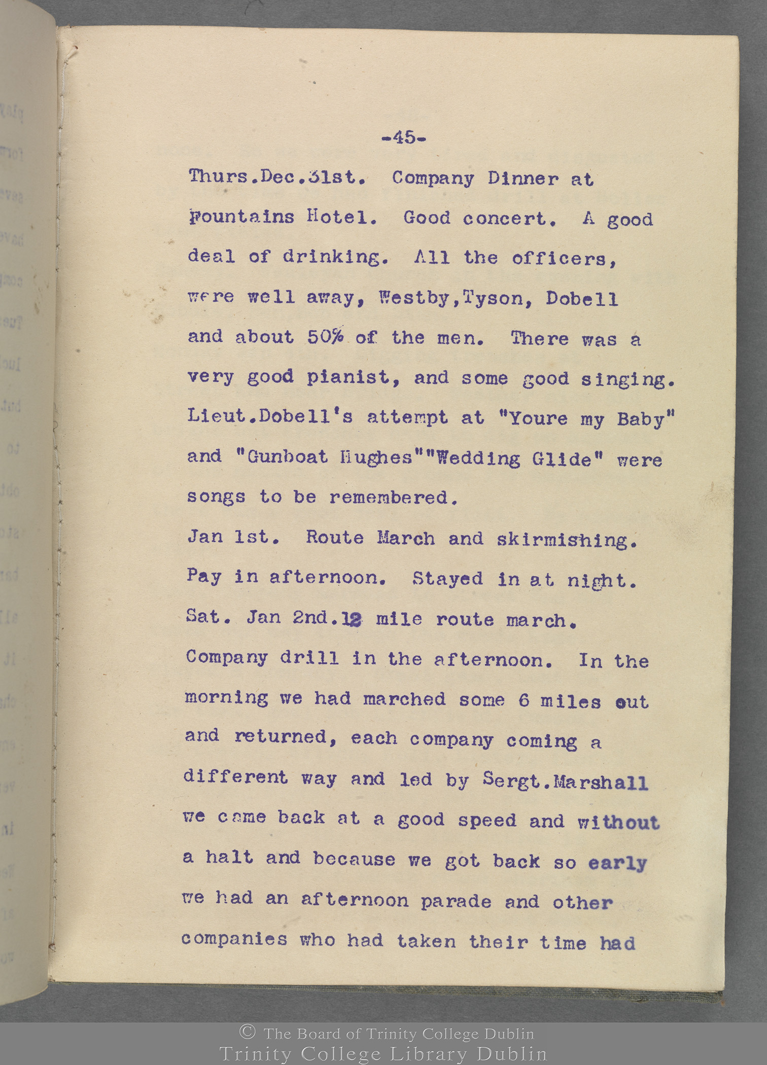 TCD MS 10853 folio 45 recto