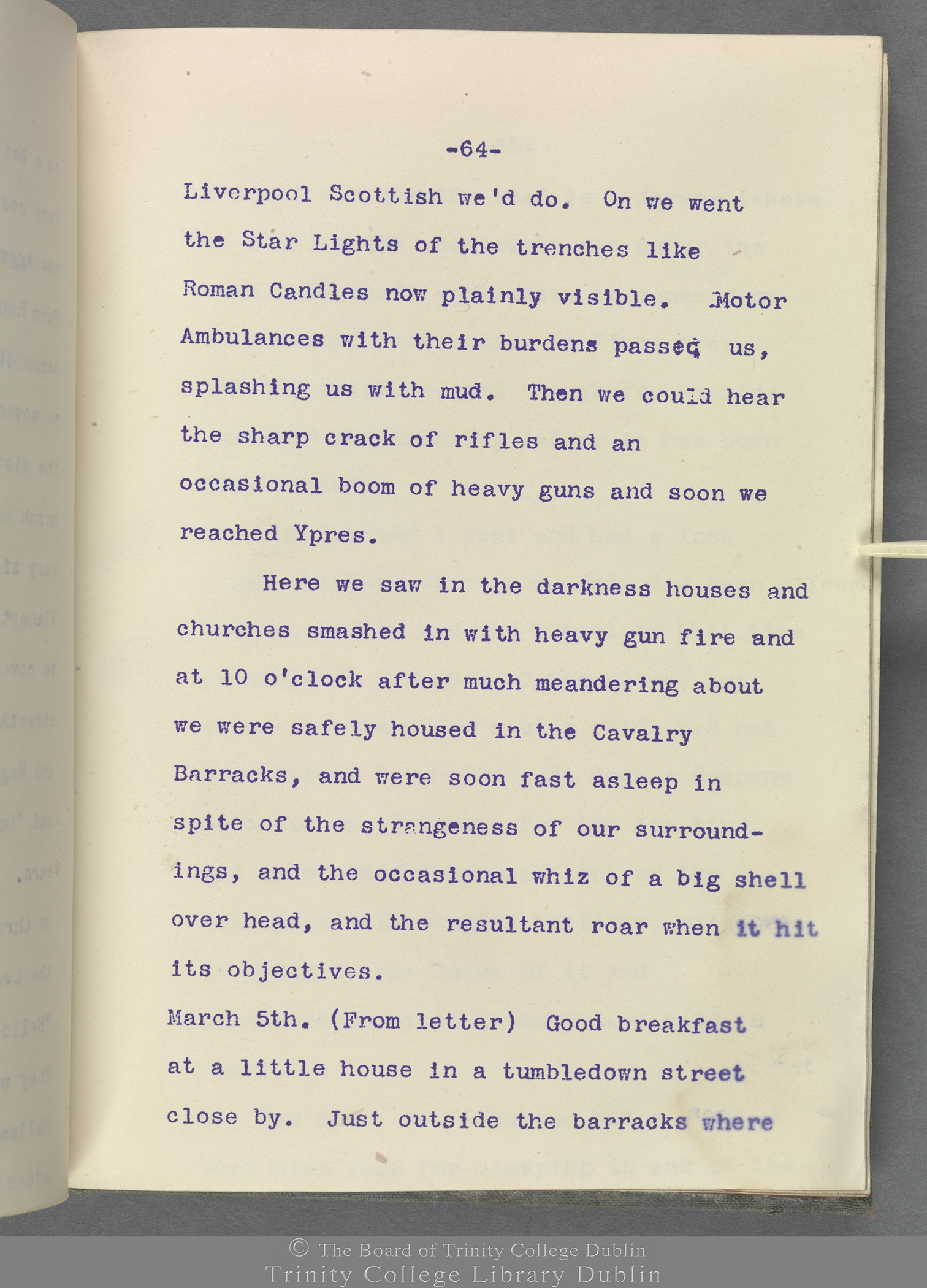 TCD MS 10853 folio 64 recto