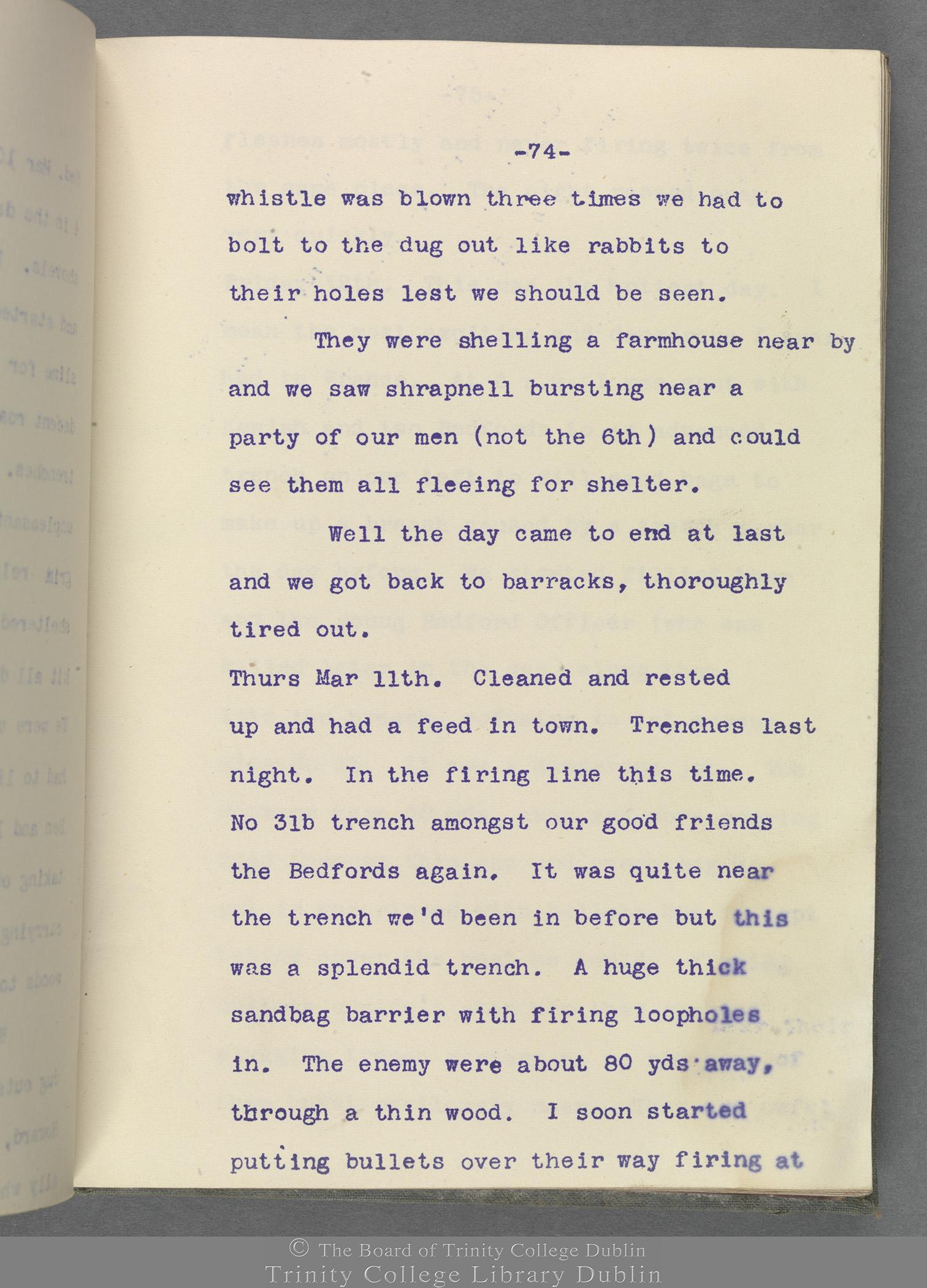 TCD MS 10853 folio 74 recto