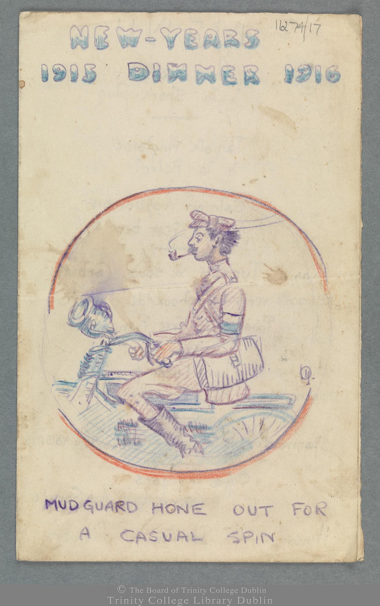 TCD MS 11274/17 folio 1 recto