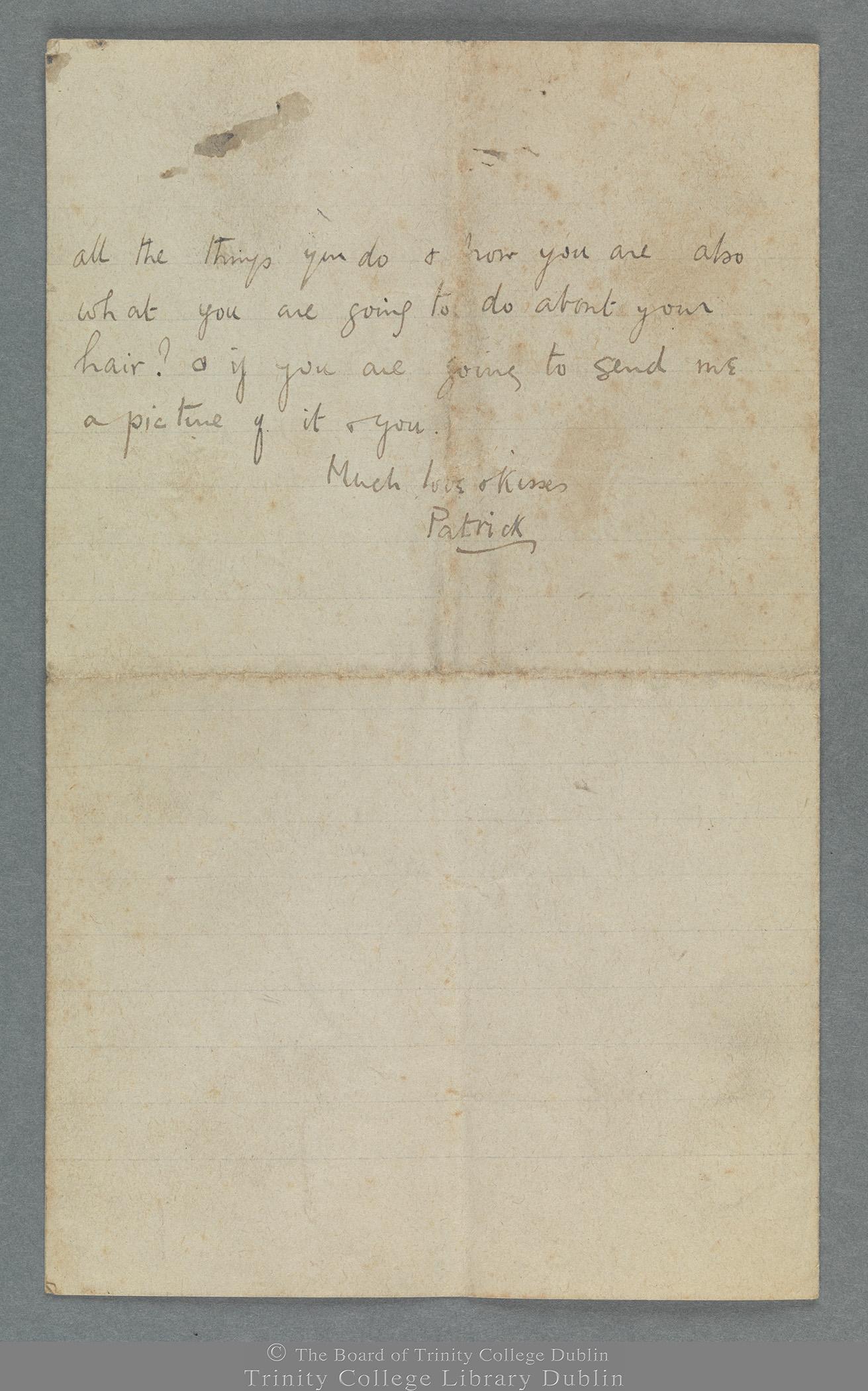 TCD MS 11274/3 folio 2 verso