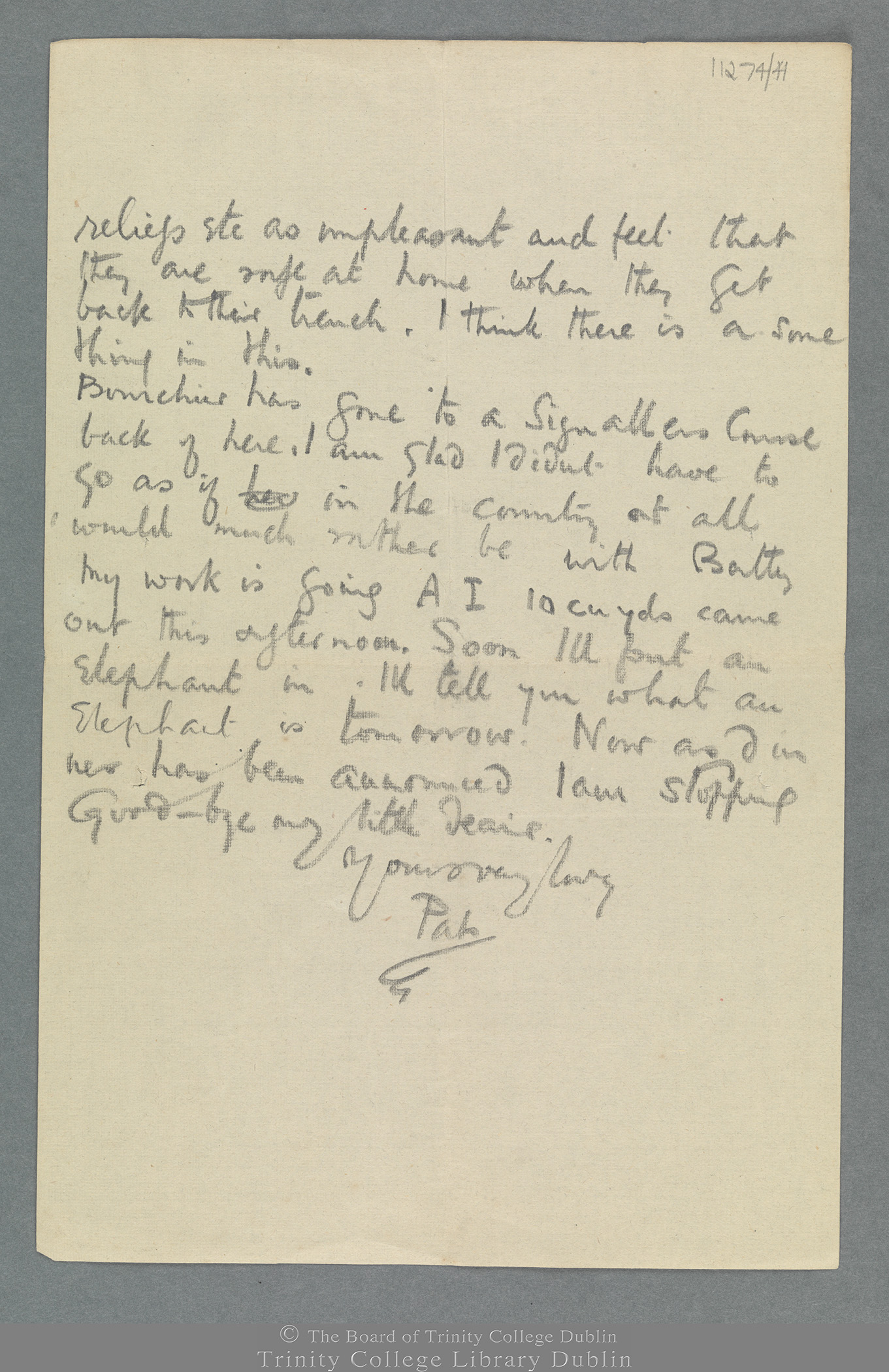 TCD MS 11274/41 folio 3 recto