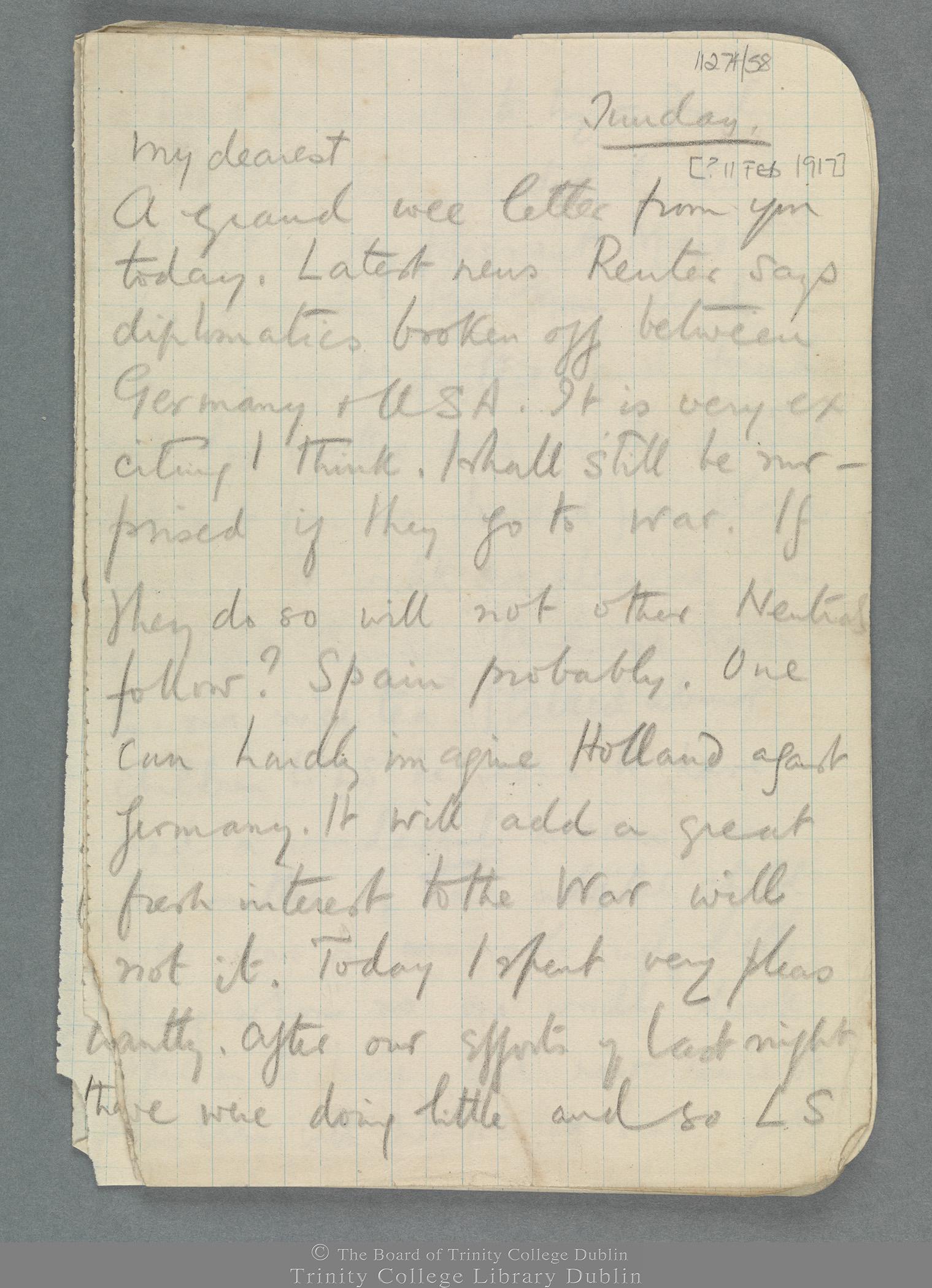TCD MS 11274/58 folio 1 recto