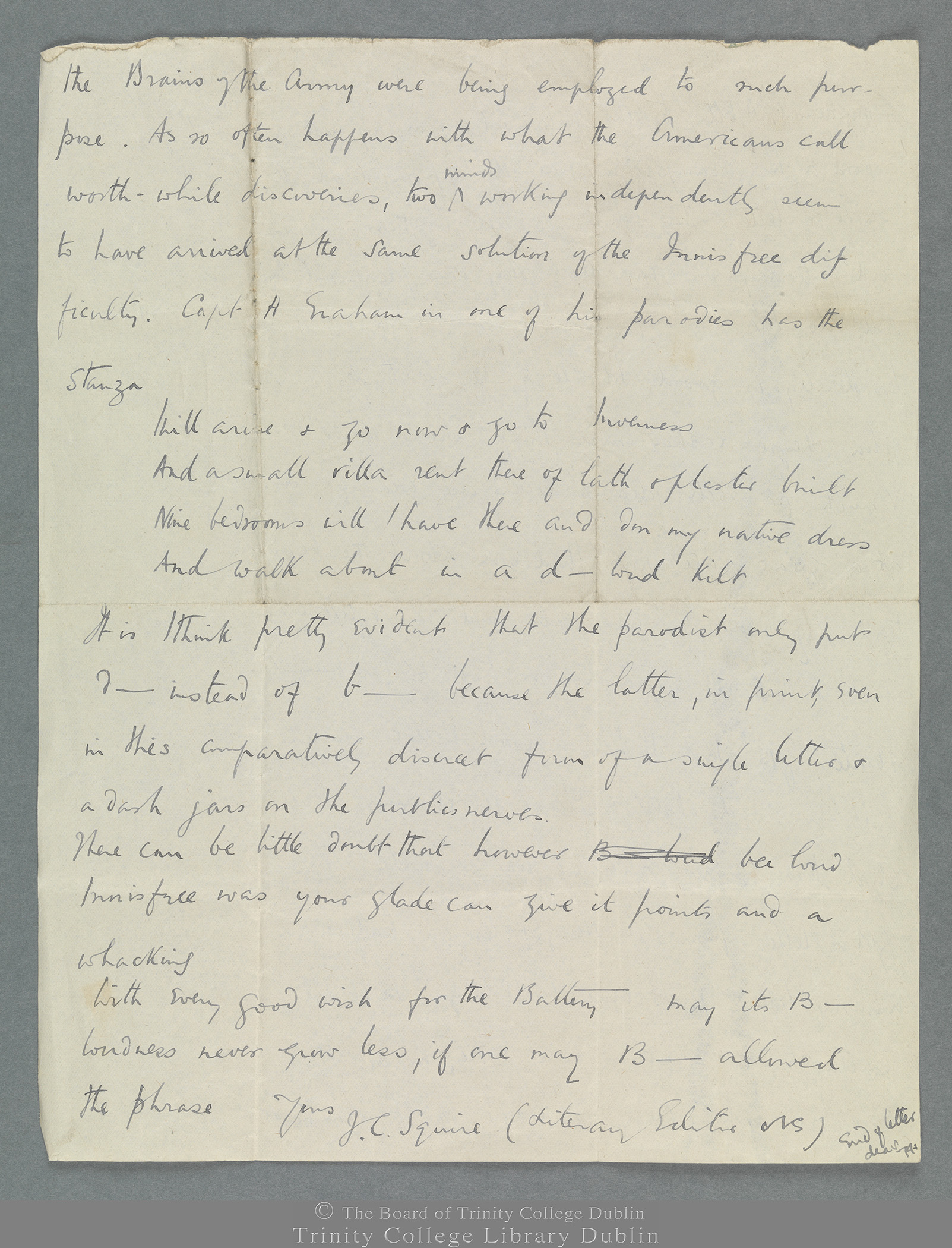 TCD MS 11274/59 folio 1 verso