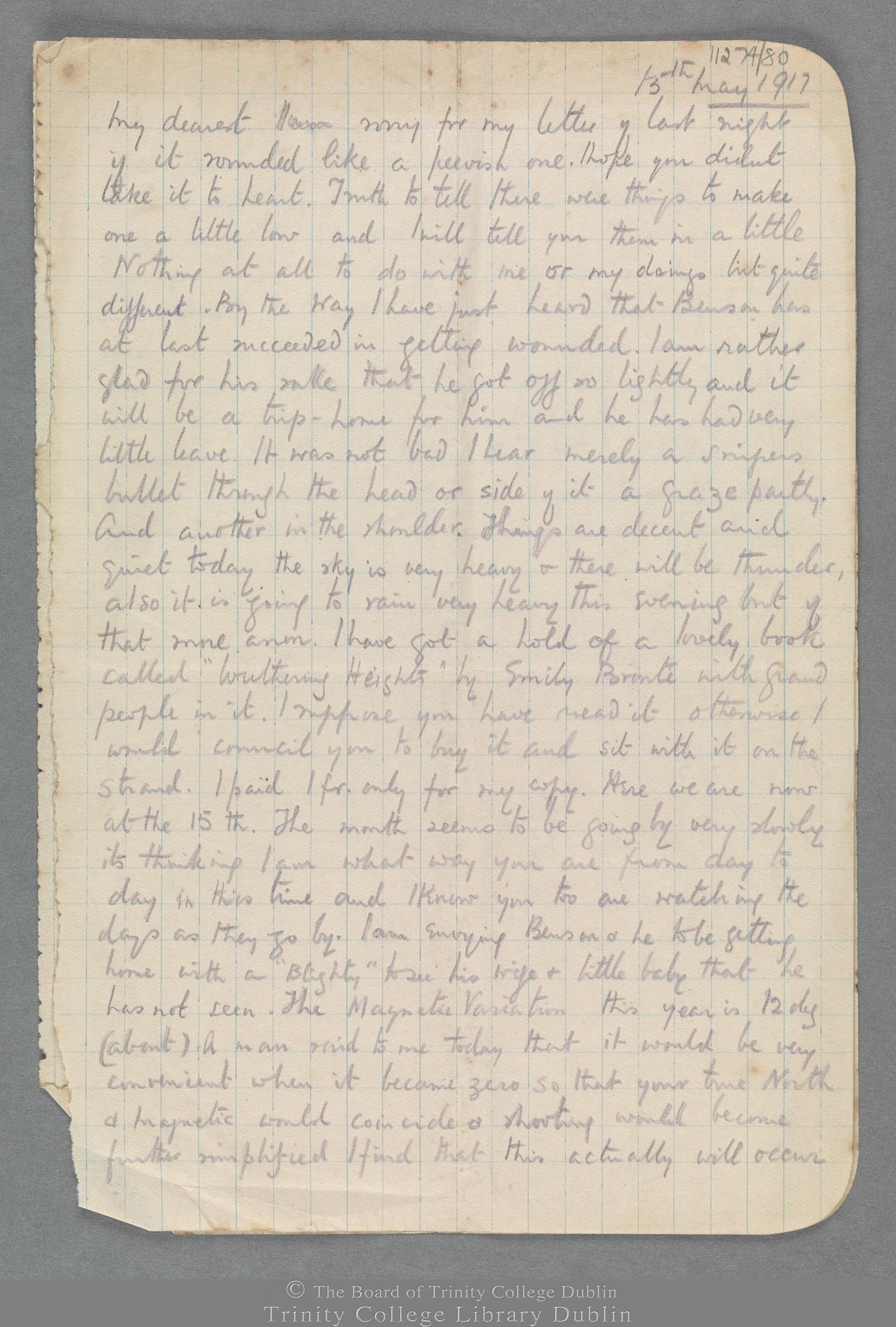 TCD MS 11274/80 folio 1 recto