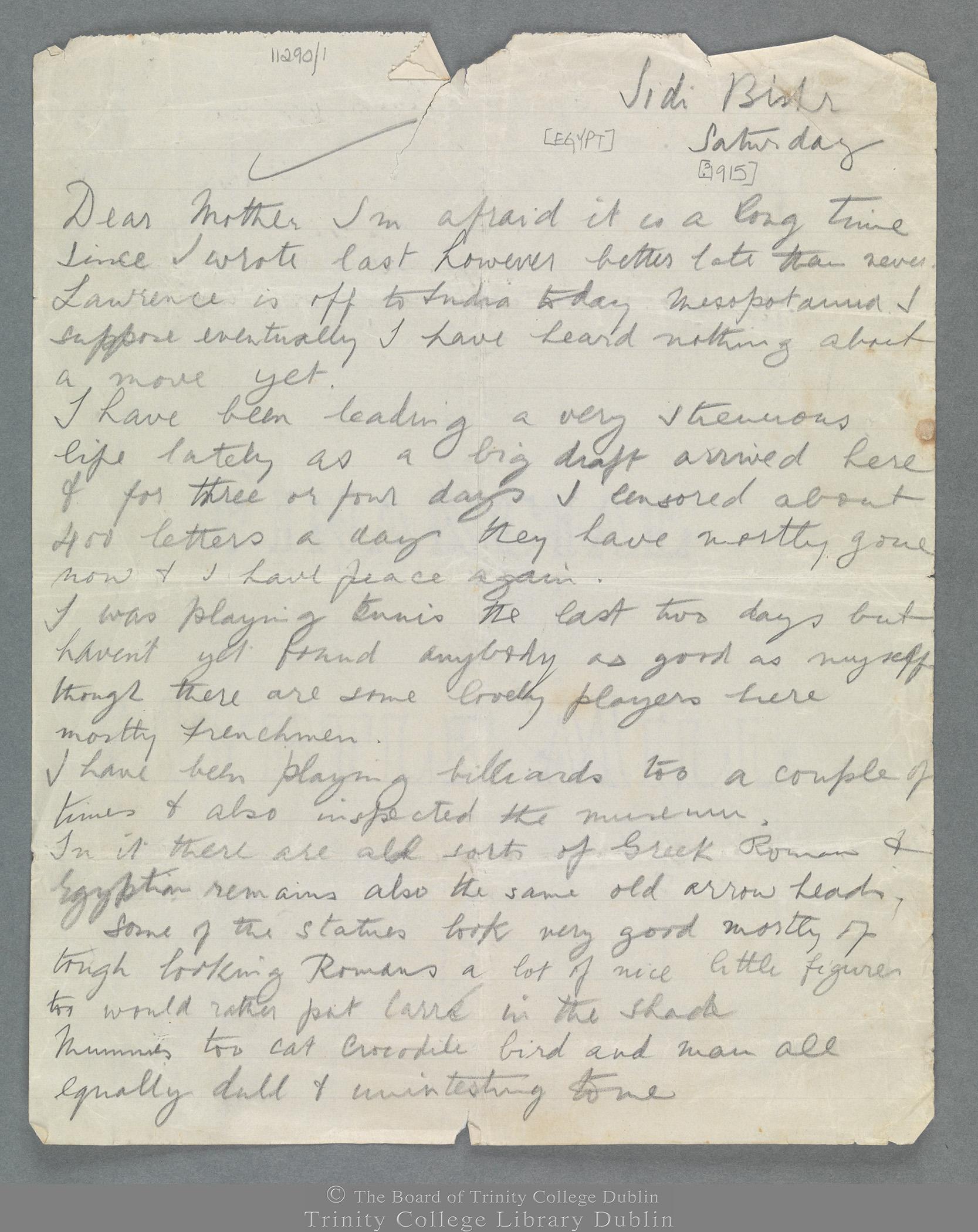 TCD MS 11290/1 folio 1 recto