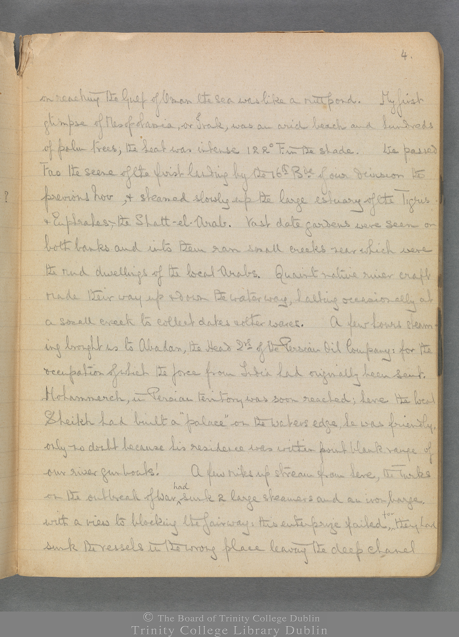 TCD MS 3414 folio 4 recto