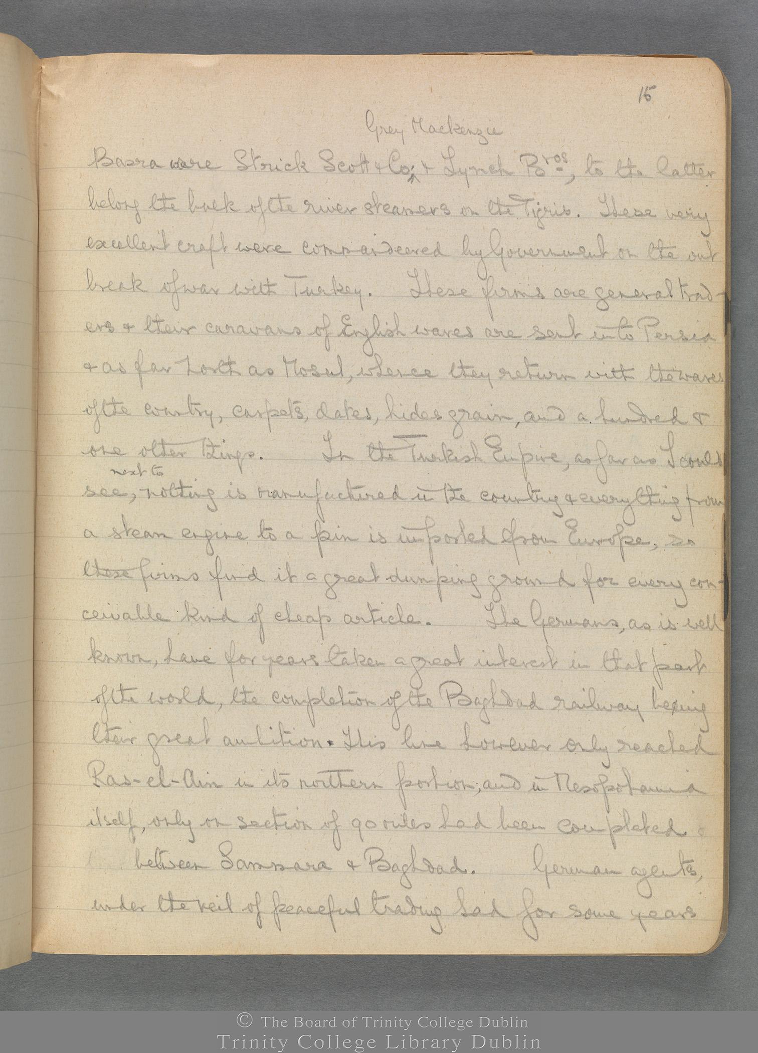 TCD MS 3414 folio 15 recto