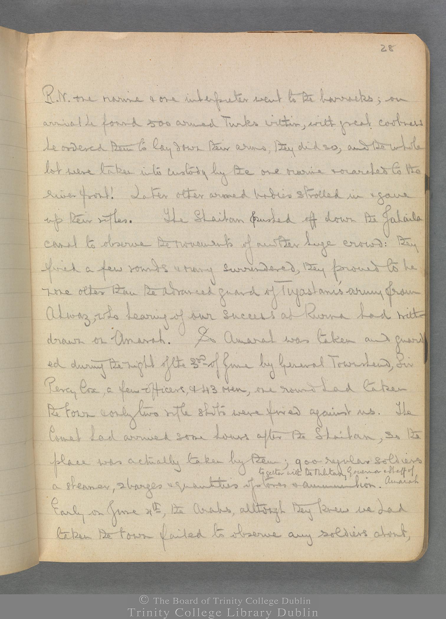 TCD MS 3414 folio 28 recto