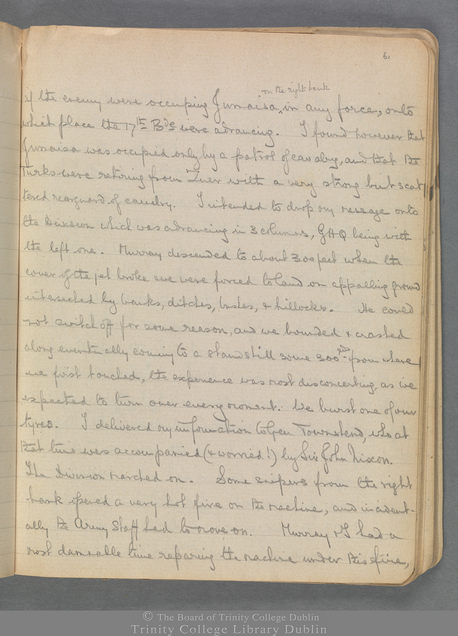 TCD MS 3414 folio 61 recto